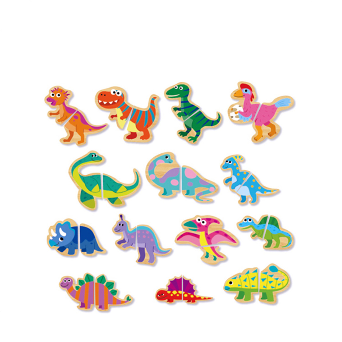 Funny Puzzle - Dinosaur