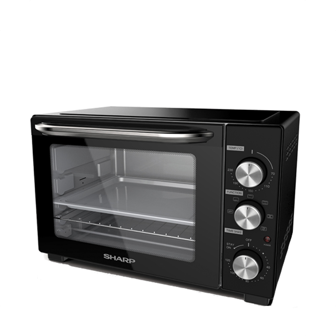 Oven Toaster With Rotisserie Fork And Convection 32L EO-327R-BK