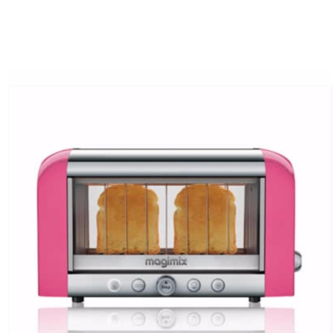 Toaster Pink  Chrome