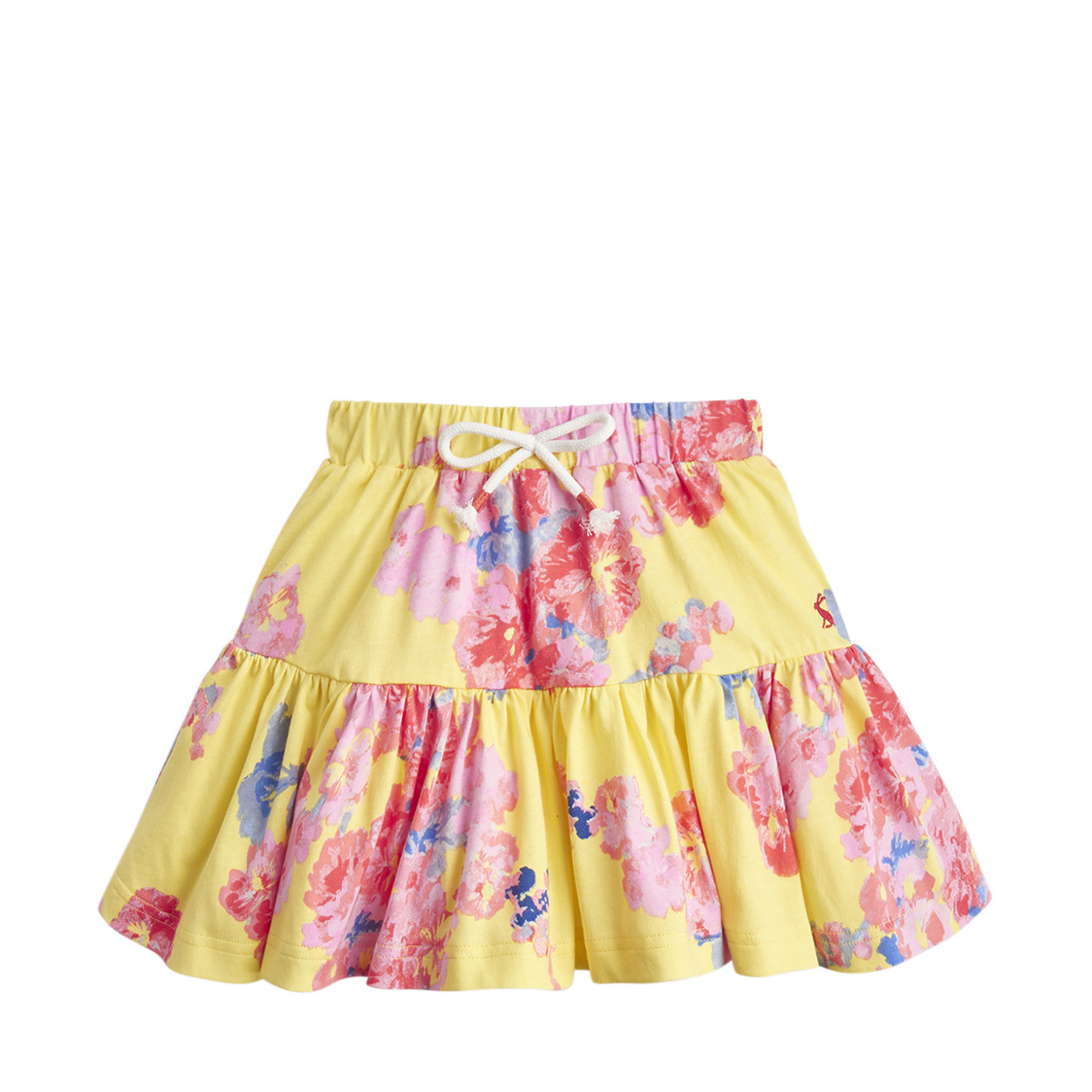 Liza Jersey Printed Skirt 1-6 Yr Yellow Floral