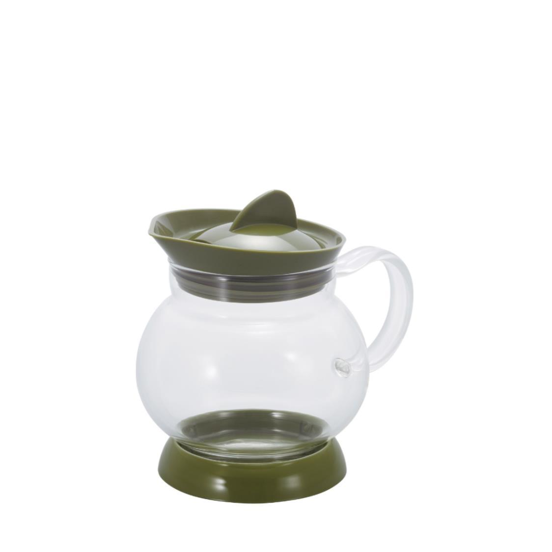 Jumping Leaf Tea Pot Olive Green 350ml JTS-35