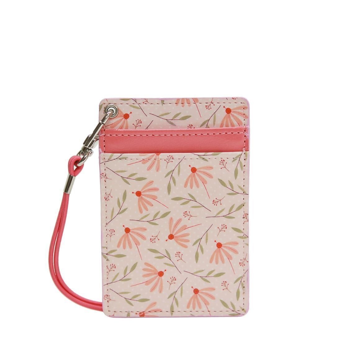 Willow Ver4 Neck Cardpocket Coral Flower