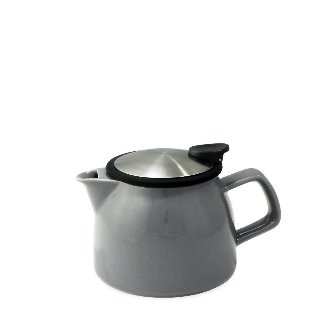 Bell Teapot with Basket Infuser 470ml FL543-GRY