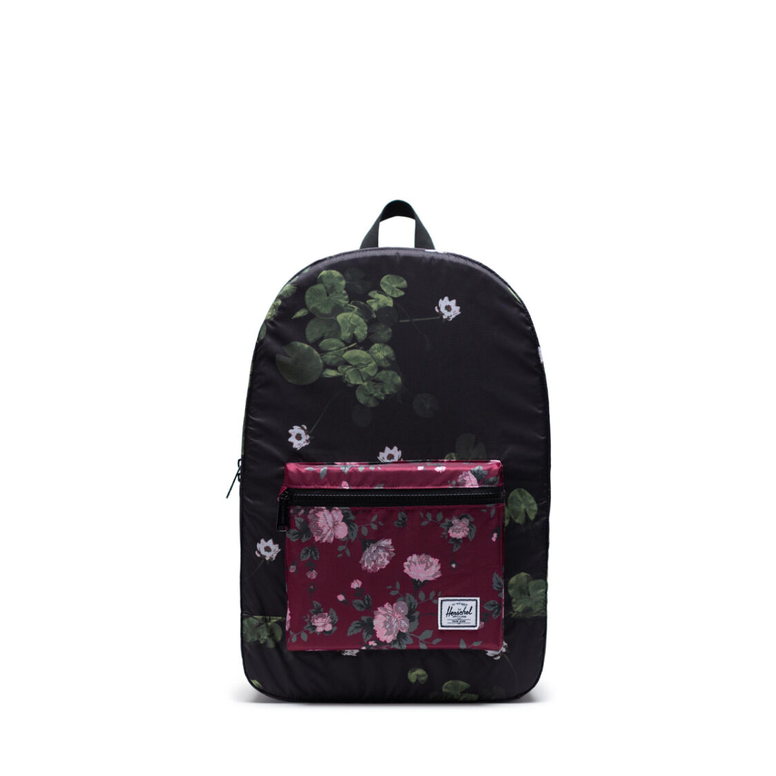 Herschel Packable Daypack Fine China Floral 10614-04083-OS