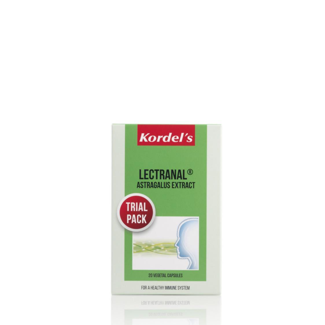 Lectranal  Astragalus Root Extract 20s Trial Pack