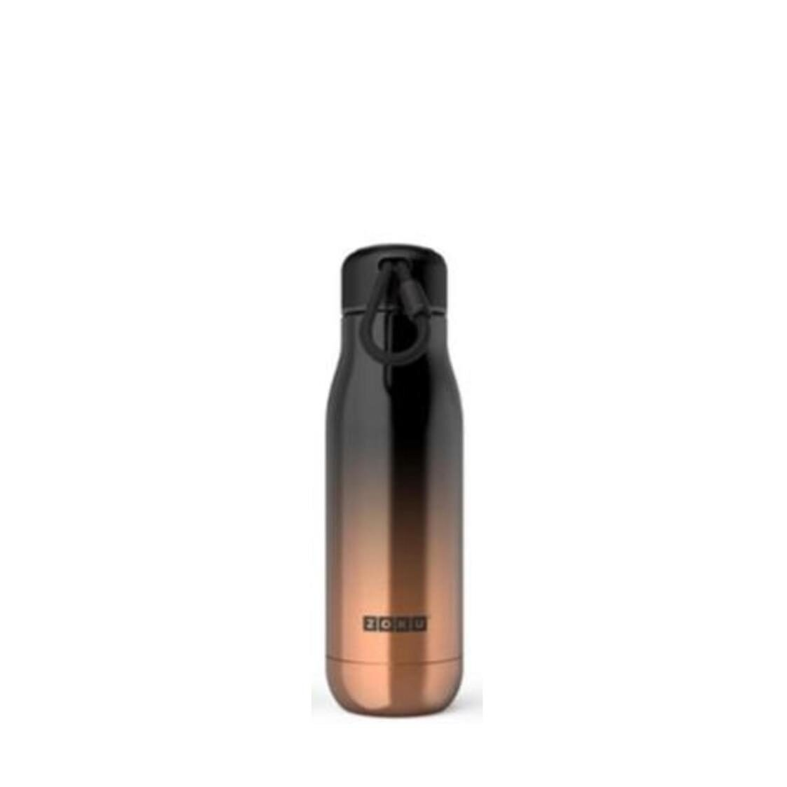 Stainless Steel Gold Ombre Bottle 18oz