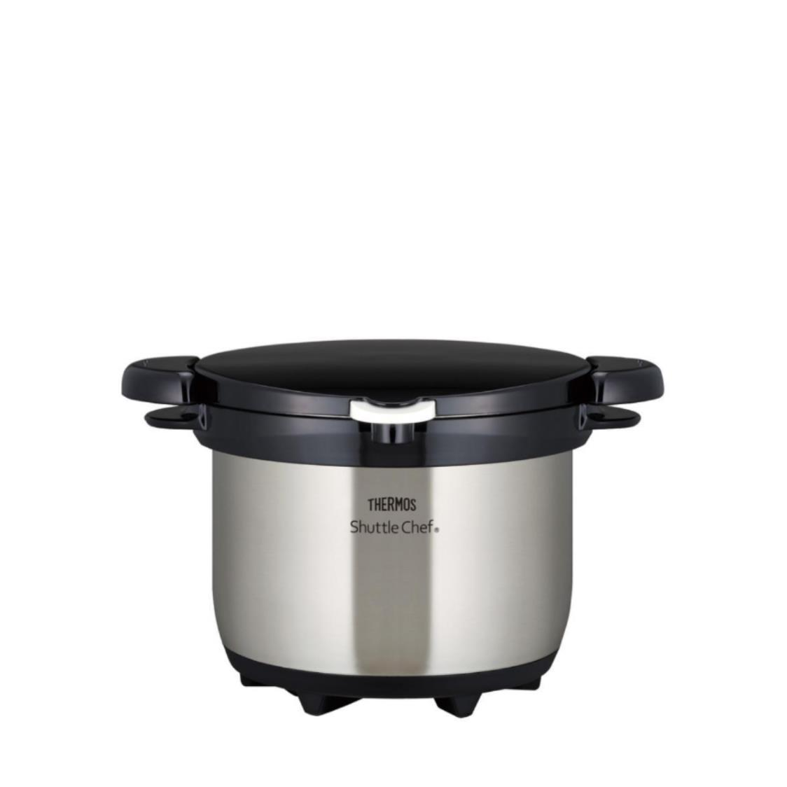 Stainless Steel Shuttle Chef Vacuum Insulated Thermal Cooker Clear Stainless 30L