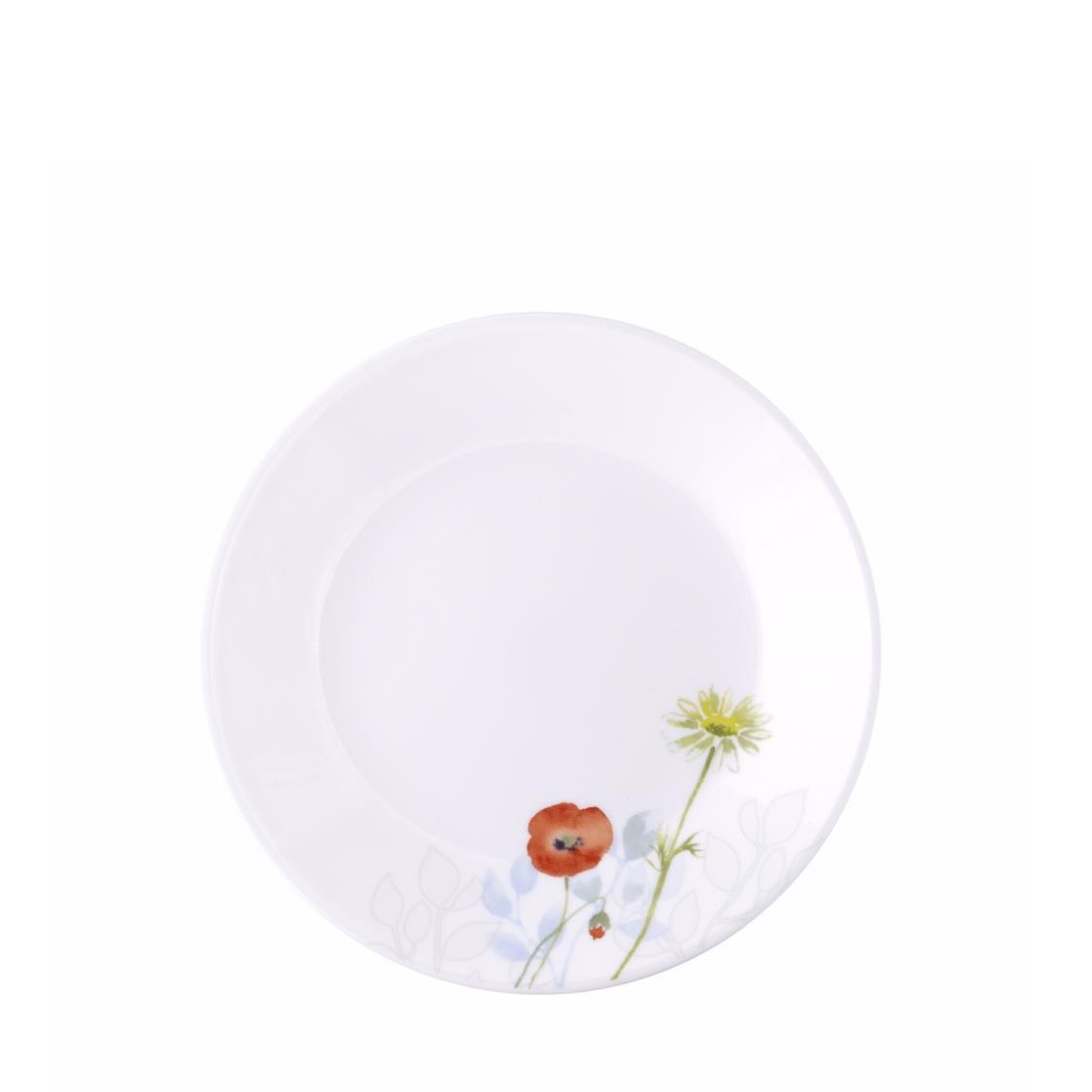 Bread  Butter Plate Daisy Field
