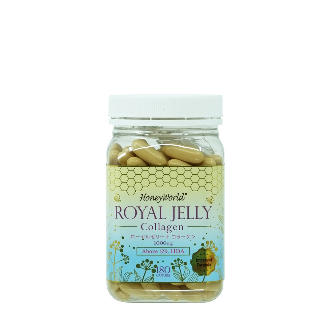 Japanese Royal Jelly  Collagens Capsules 180S