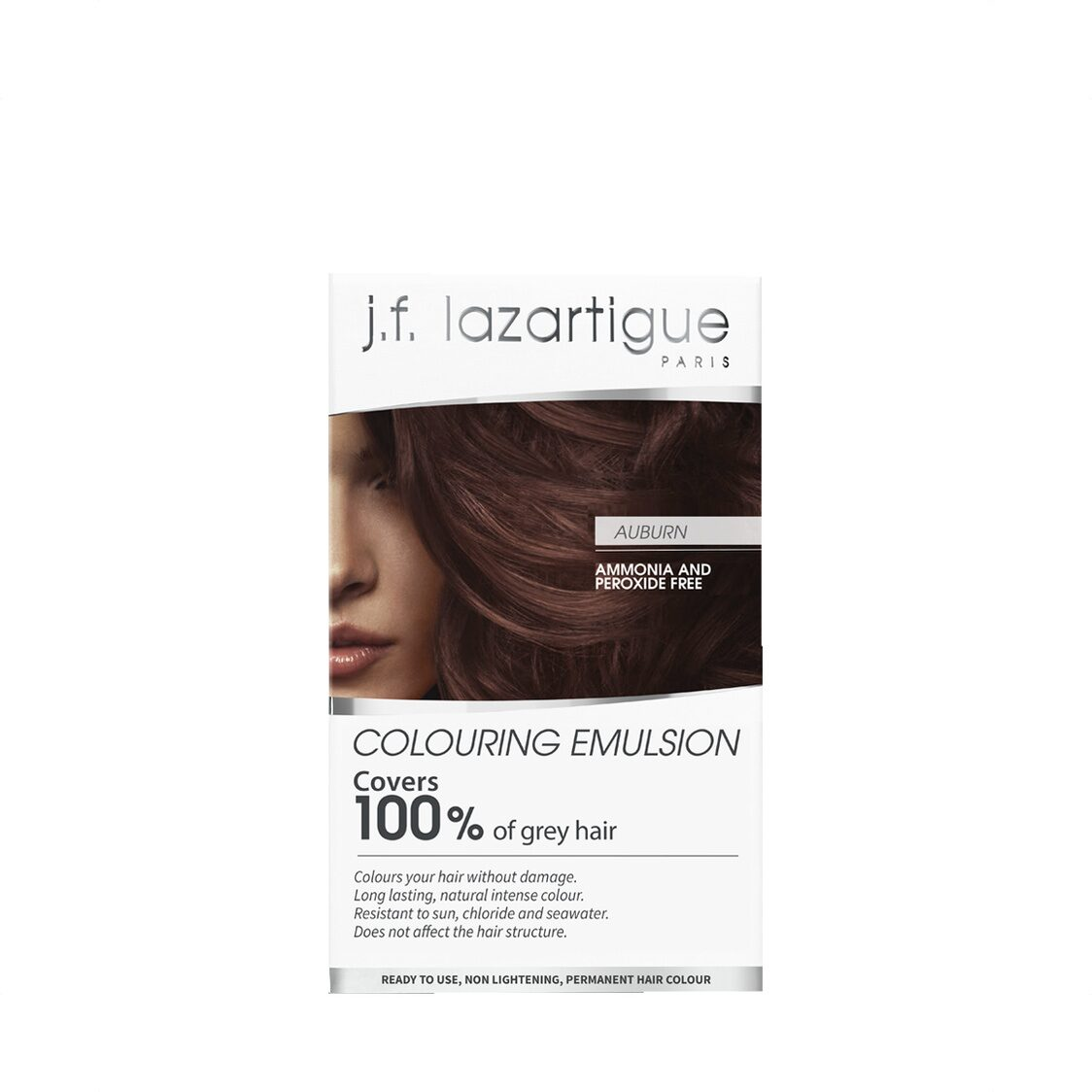 Colour Emulsions For Grey Hair Auburn 60ml