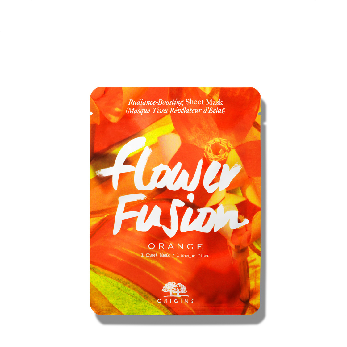 Origins Flower Fusion Radiance-Boosting Sheet Mask Orange