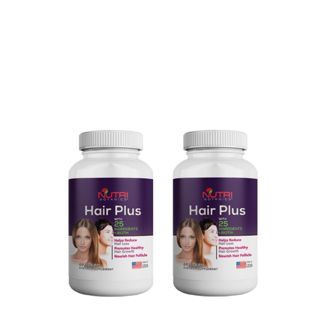 Hair Plus 2 x 60s Tablets
