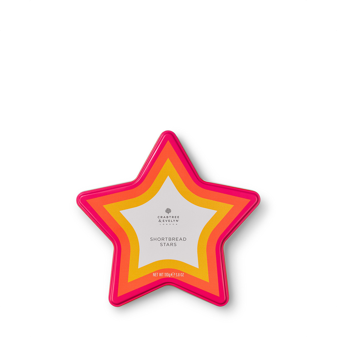 Star-Shaped Shortbread Biscuits 110g