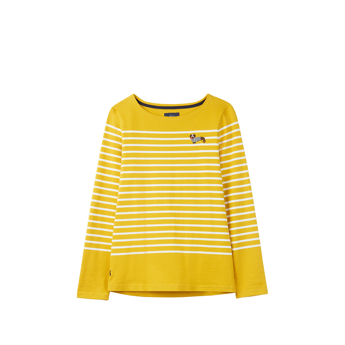 Harbour Embroidered Long Sleeve Jersey Top