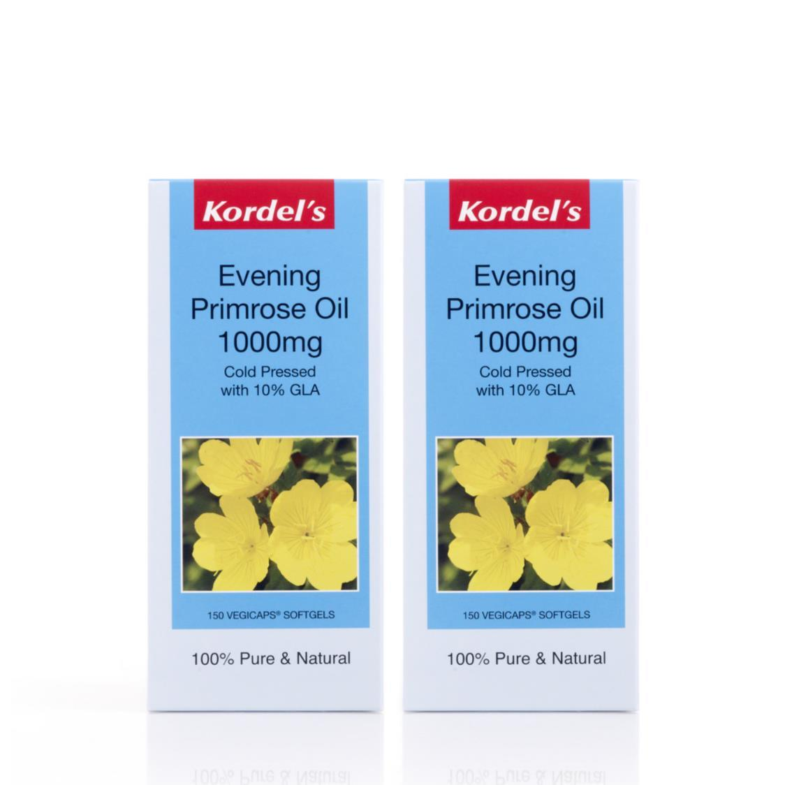 Evening Primrose 1000mg Vegicaps 150sx2