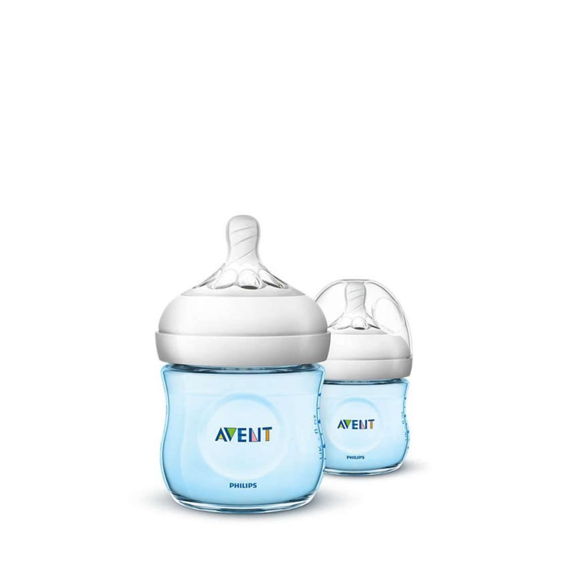 Philips Avent Pp Blue Natural Bottle Twin Pack