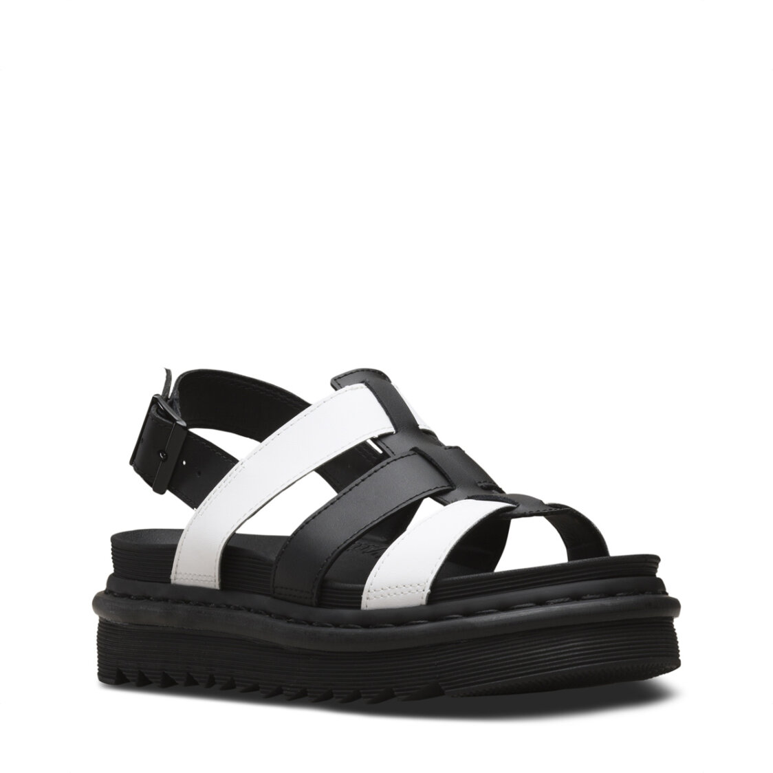 Dr Marten Yelena Hydro Leather Sandals