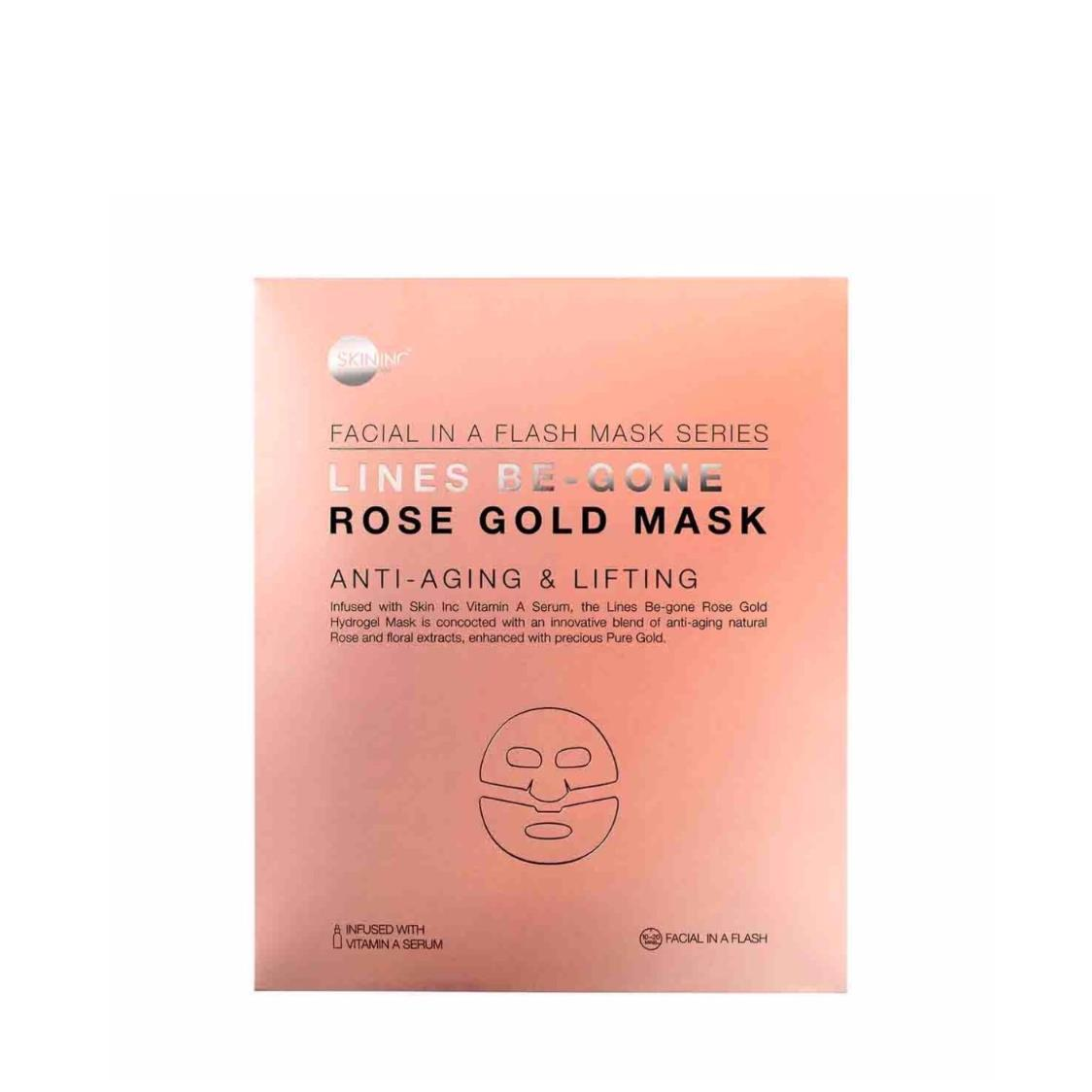 Lines Be-Gone Rose Gold Mask single