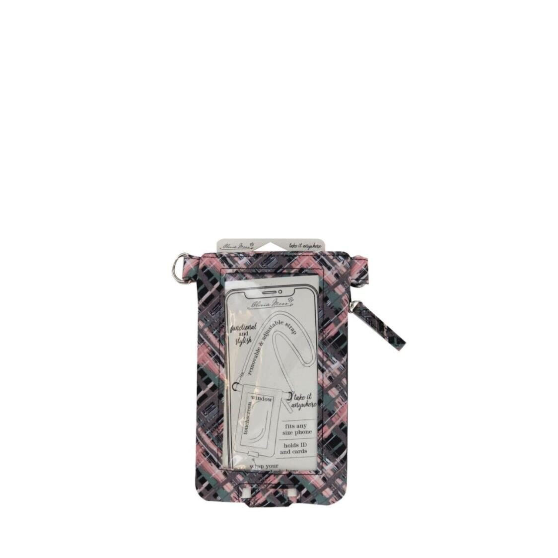 Crossbody Phone Bag Pretty In Plaid