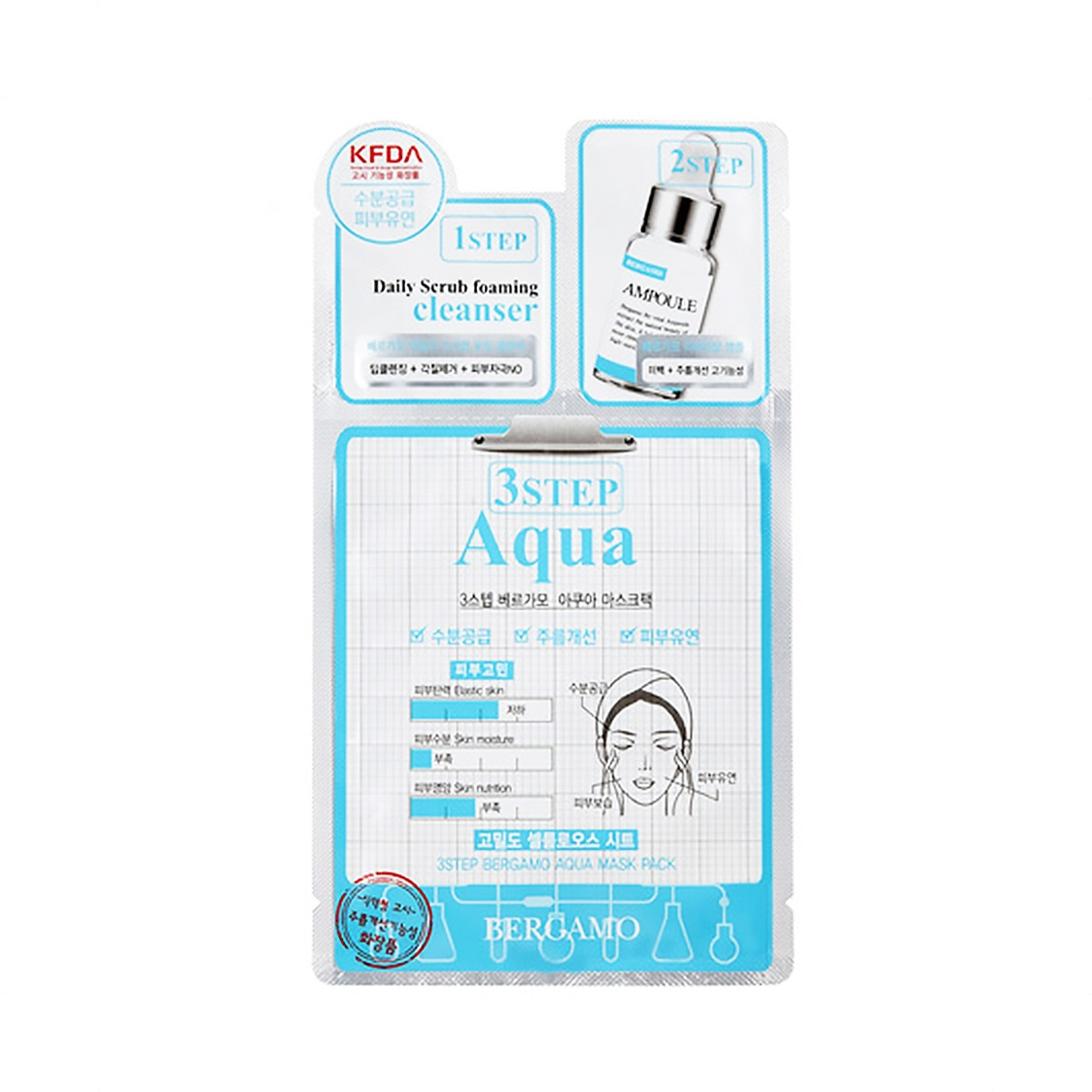 3 Step Mask - Aqua 28ml