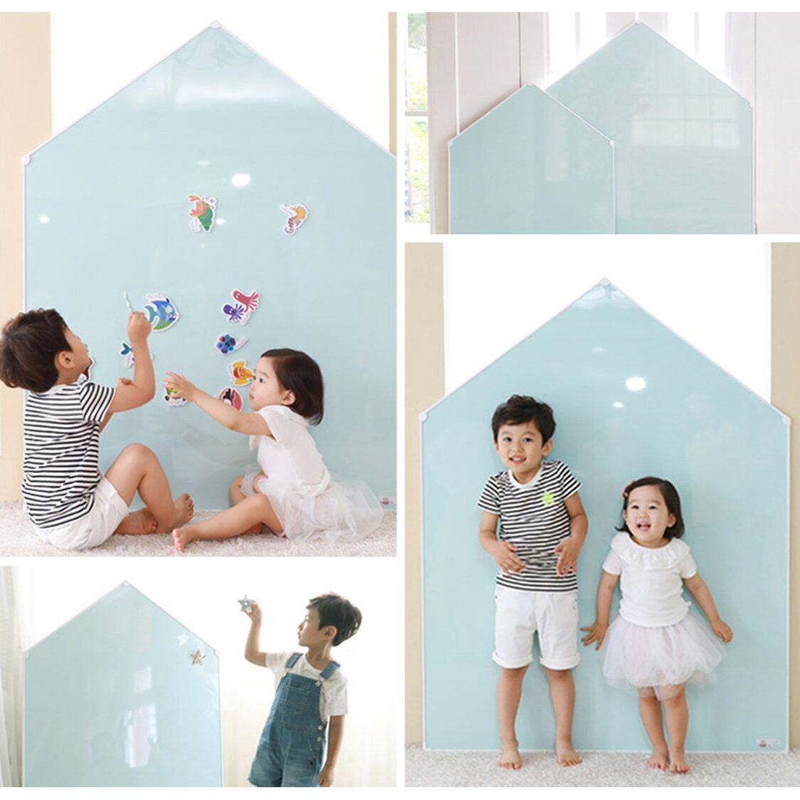 Premium Magnetic Board - Jeje House L - Mint