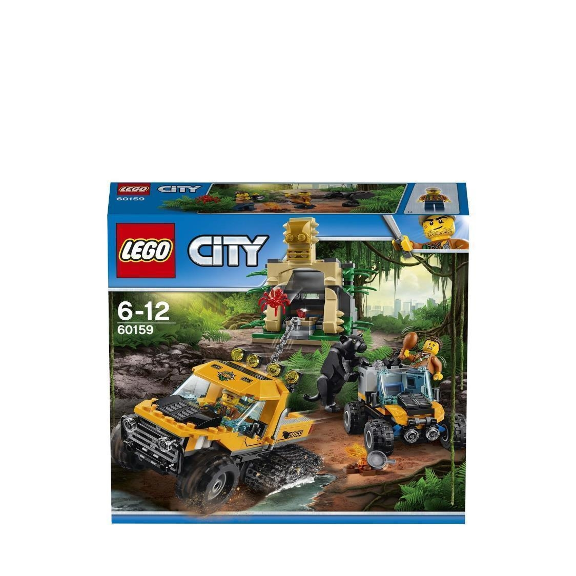 Jungle Halftrack Mission 60159