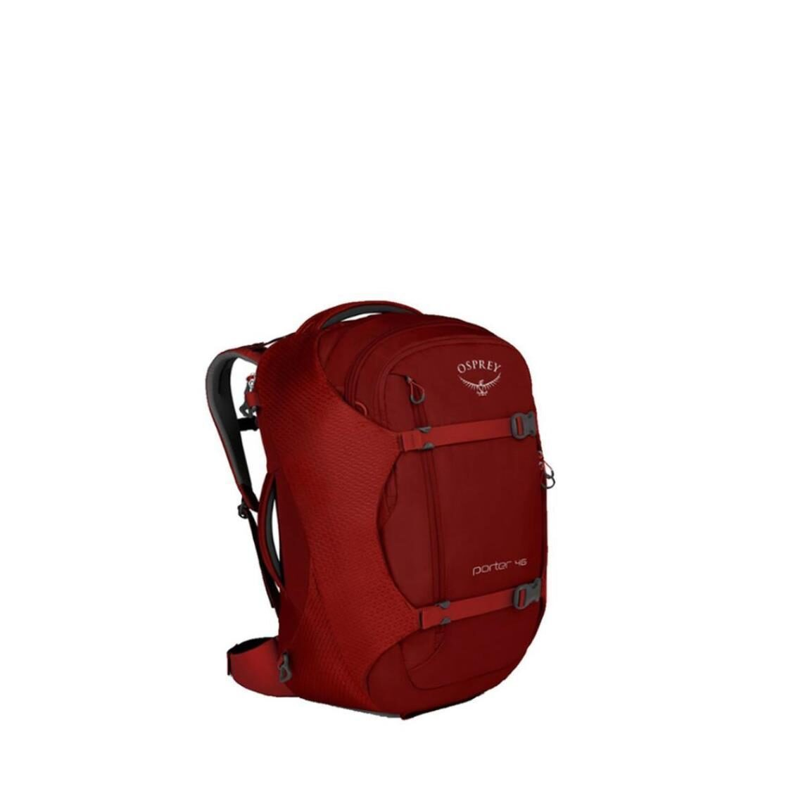 Porter Backpack Mineral Diablo Red