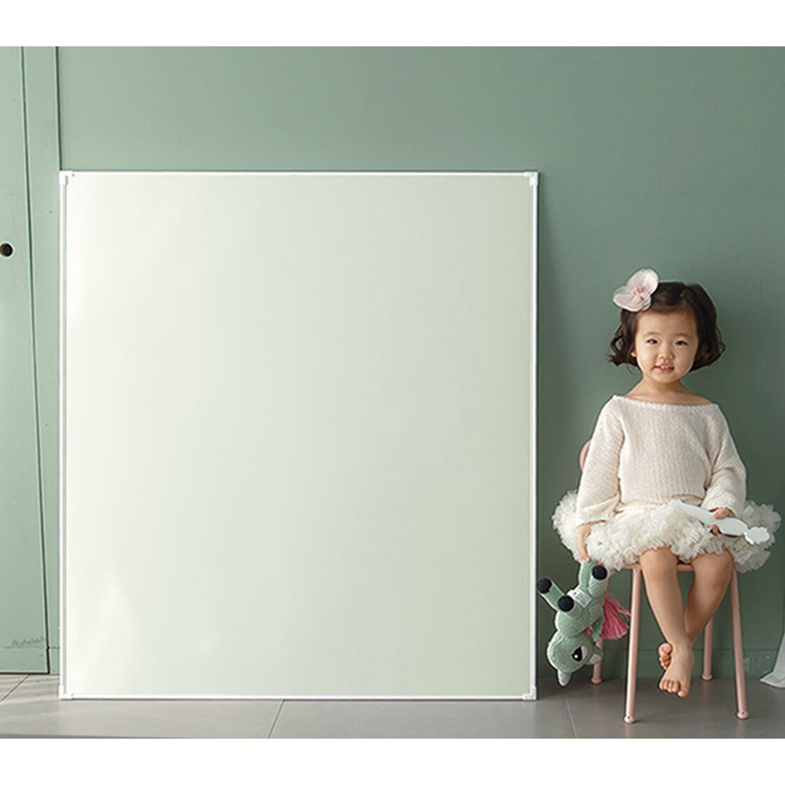 Premium Magnetic Board - Jeje Square MignonM - Green