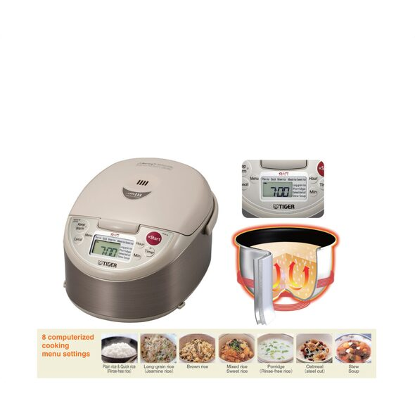 Tiger 1L 3 Layer Induction Rice Cooker Made in Japan