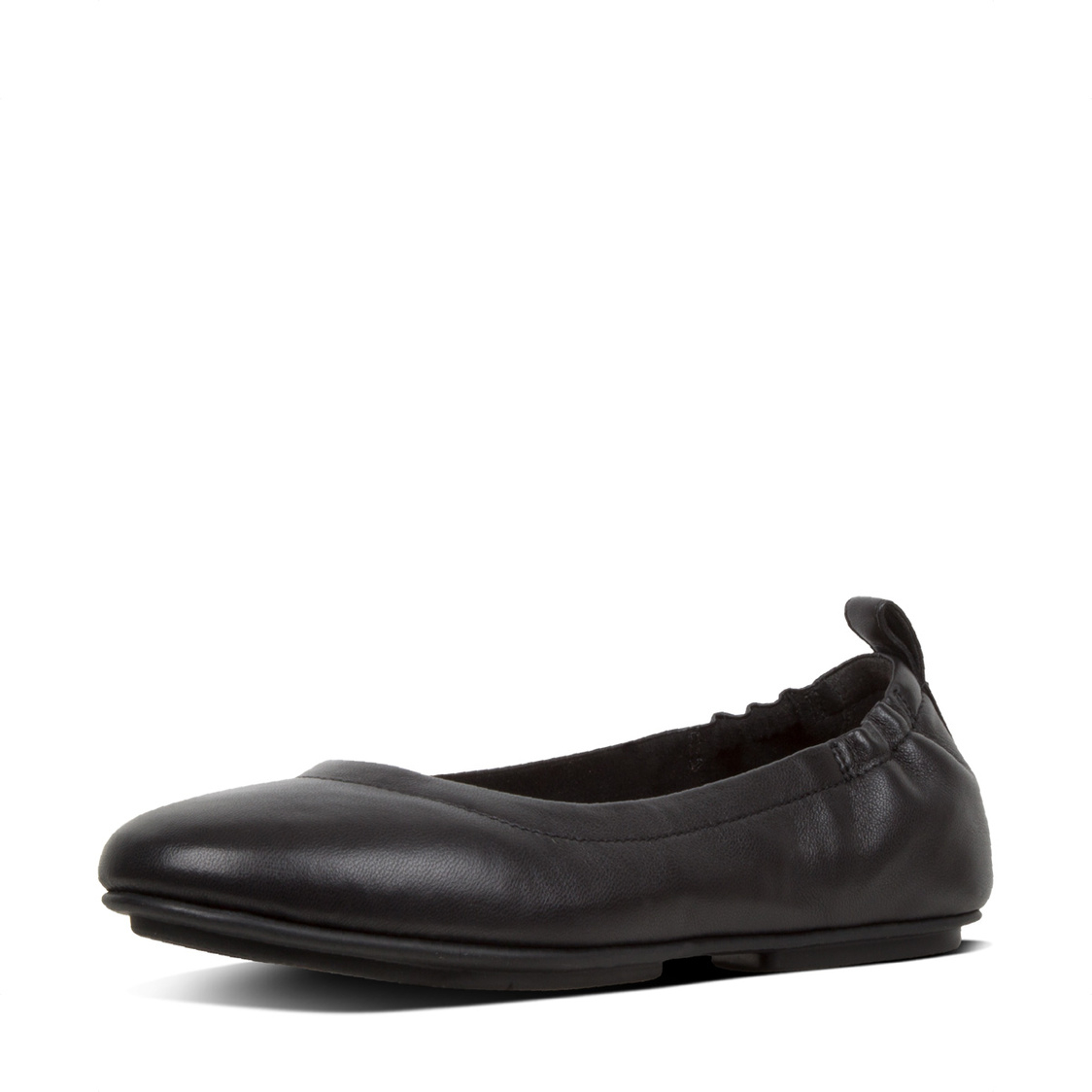Allegro Leather Ballerinas Black