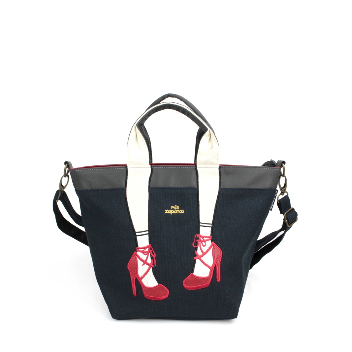 2-Way Use High Heels Slingbag Black
