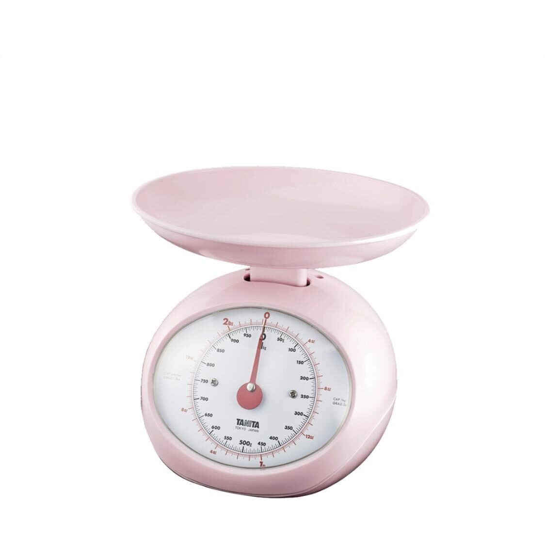 Mechanical Kitchen Scale Pink 1401