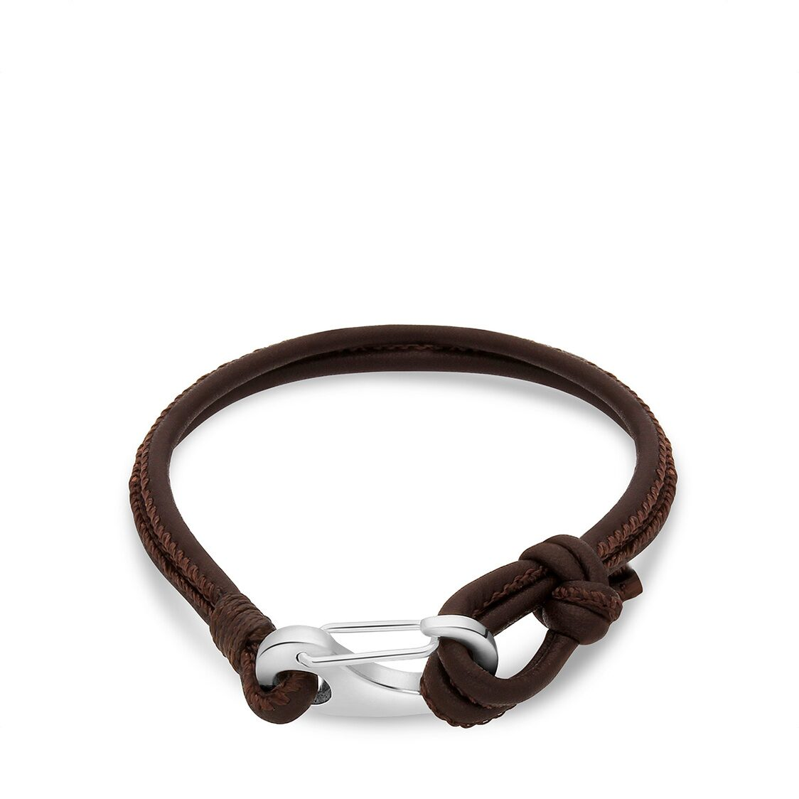 Ron Bracelet - Brown Leather