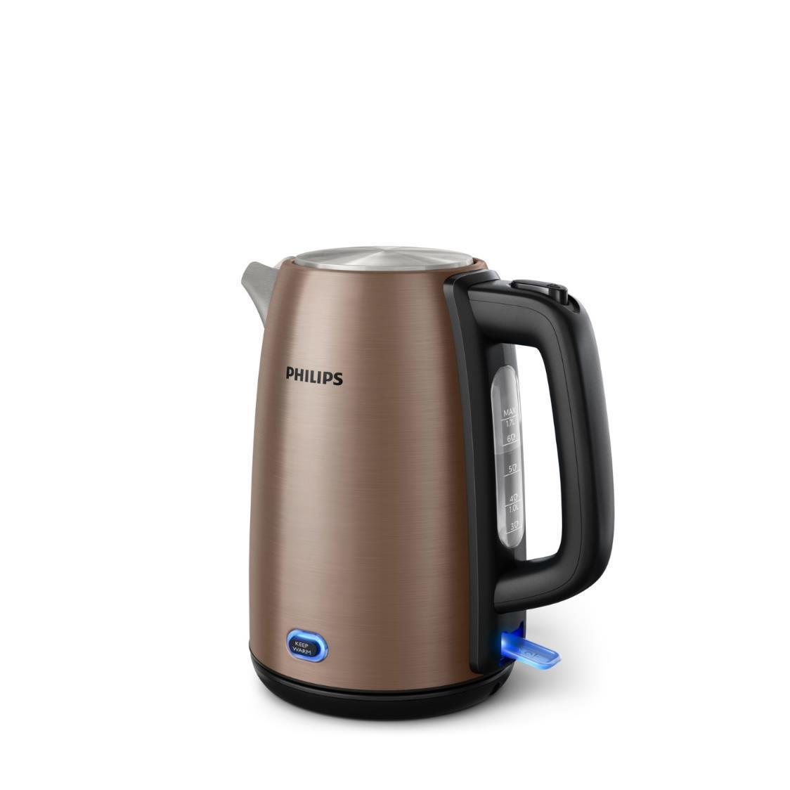 Philips Champagne Metal Kettle HD935592 17L