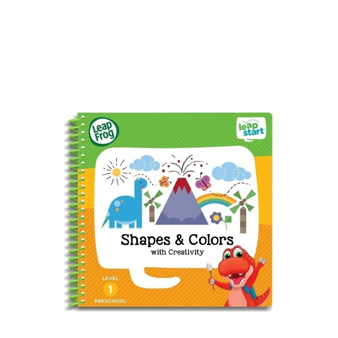 LeapFrog Leapstart Book Shapes  Colours with Creativity