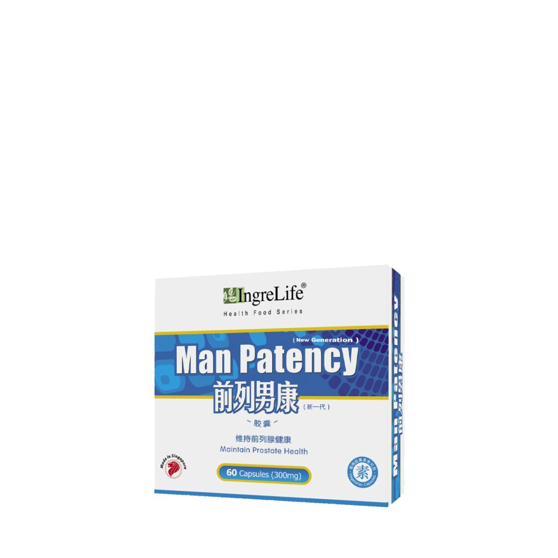Man Patency 60 Capsules