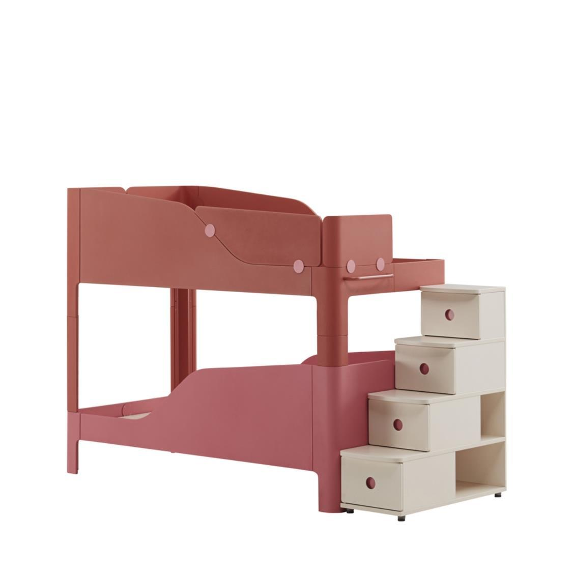 Tinkle Pop 2 Story Bed Stairs KRKP Red Pink