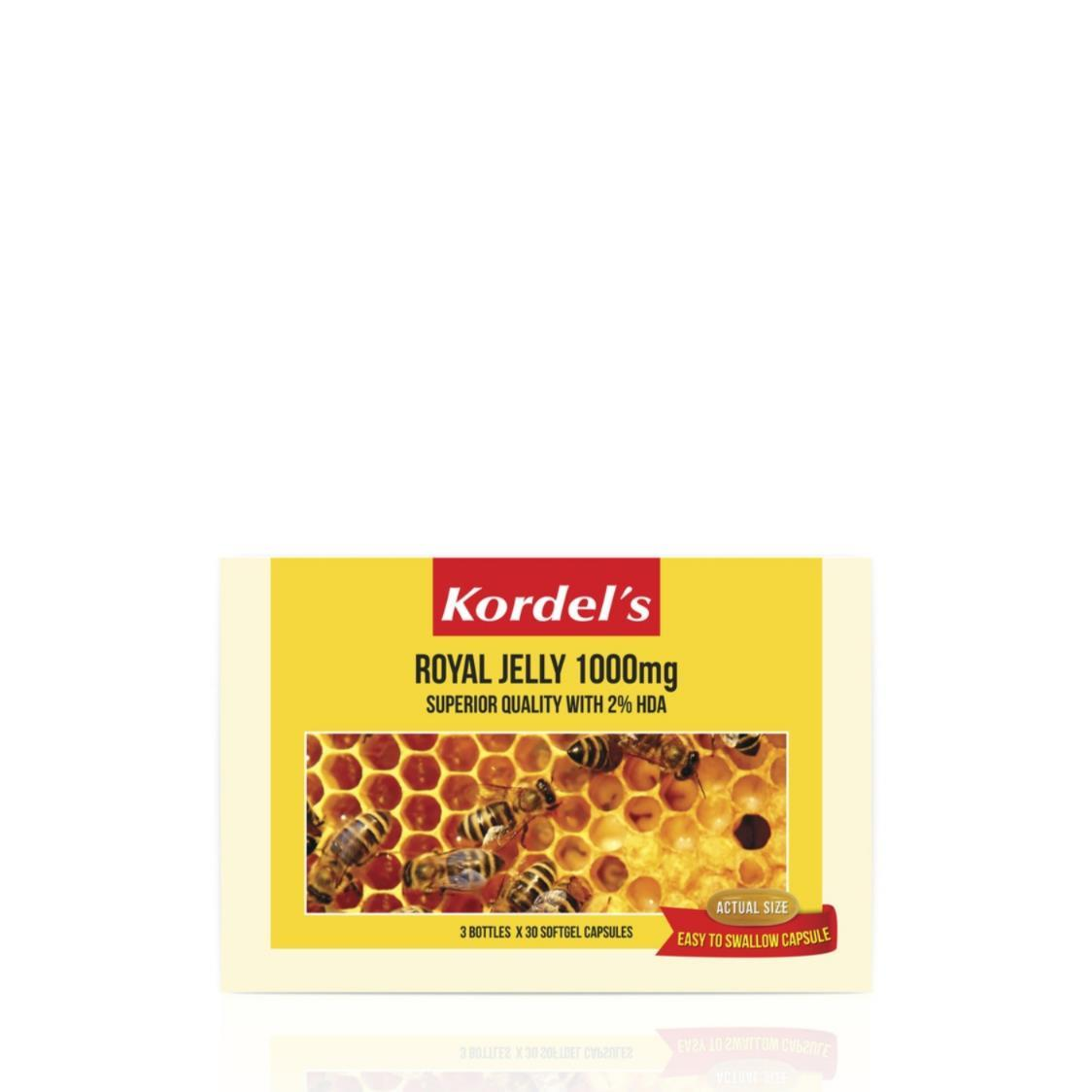 Royal Jelly 1000mg Pack 30sx3