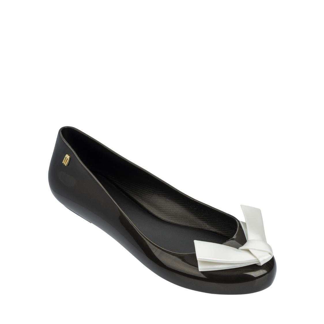 Space Love Flats Black-White