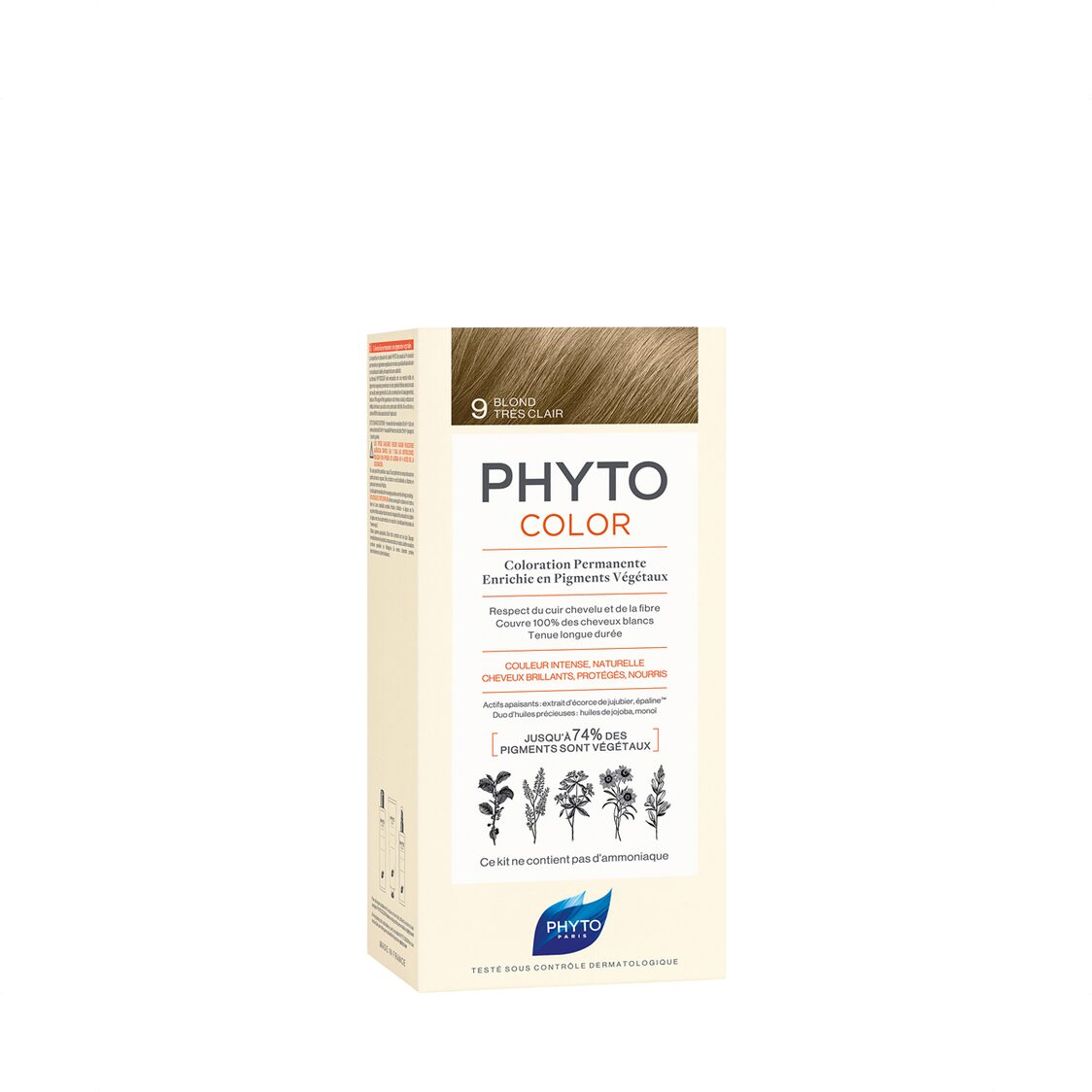 Phytocolor 9 Very Light Blond Col Cr 50ml  Lot 50ml PH10015A99926