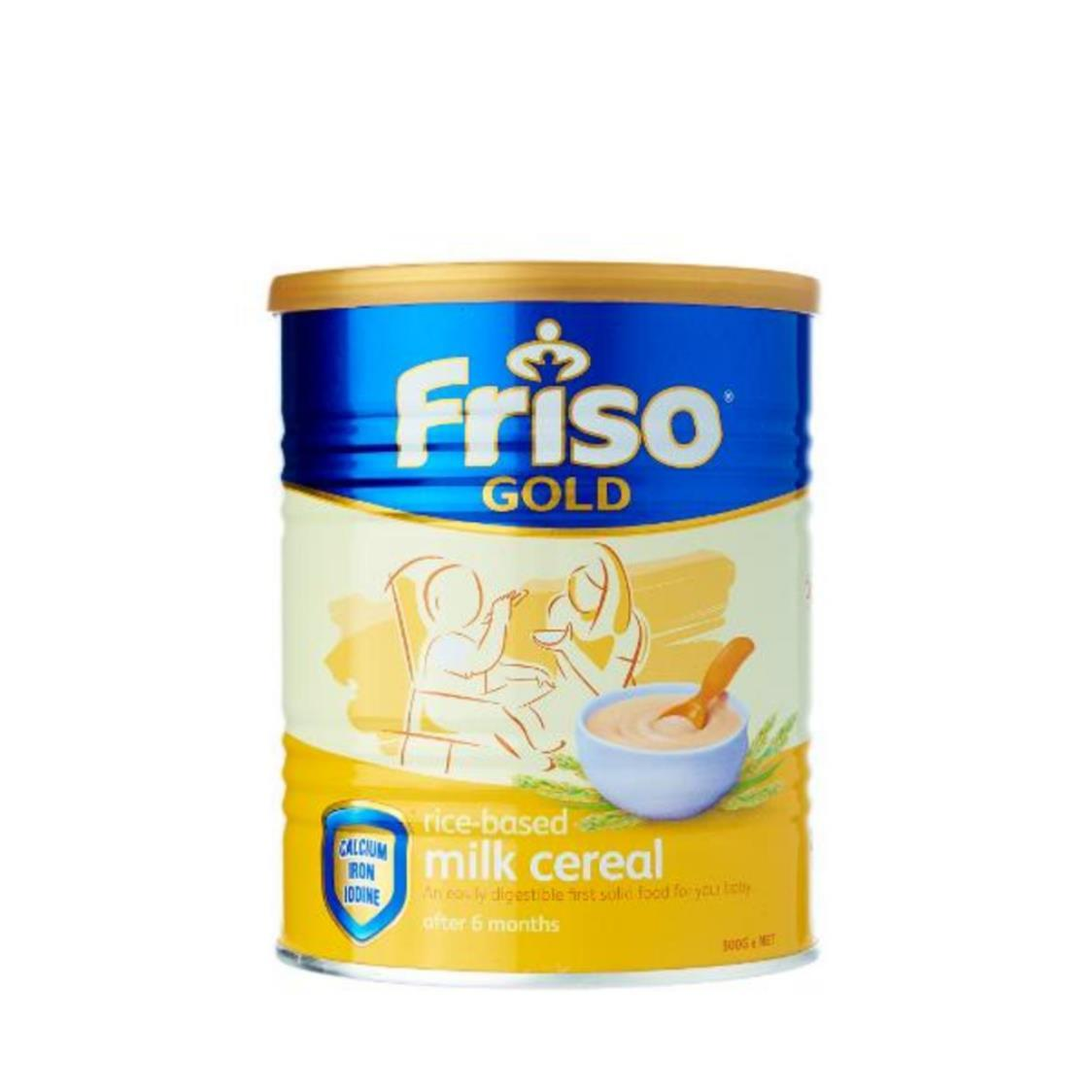 Friso Gold Rice Milk Cereal