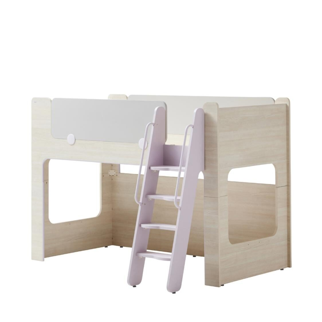 Cabin Bunk Bed Ladder OSLU Olmless Ruster Light Purple