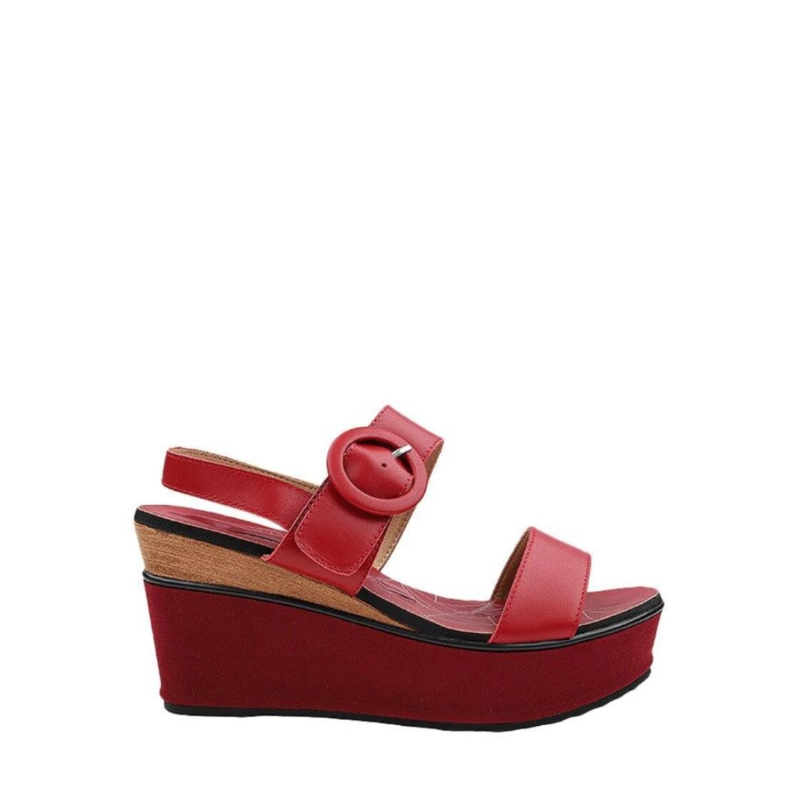 Maridith Justyne Slingback Red