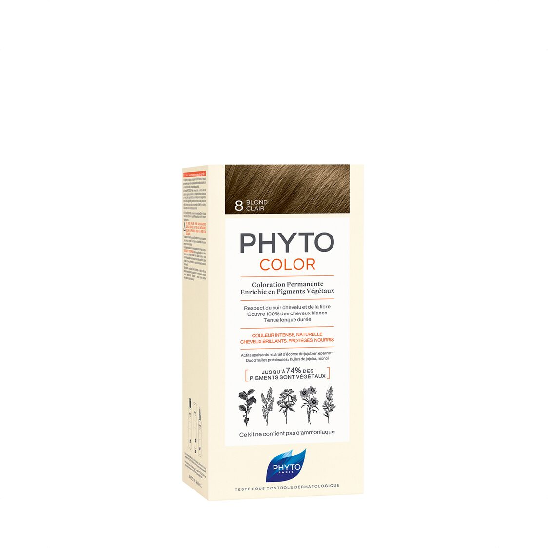 Phyto Phytocolor 8 Light Blond Col Cr 50ml  Lot 50ml PH10013A99926