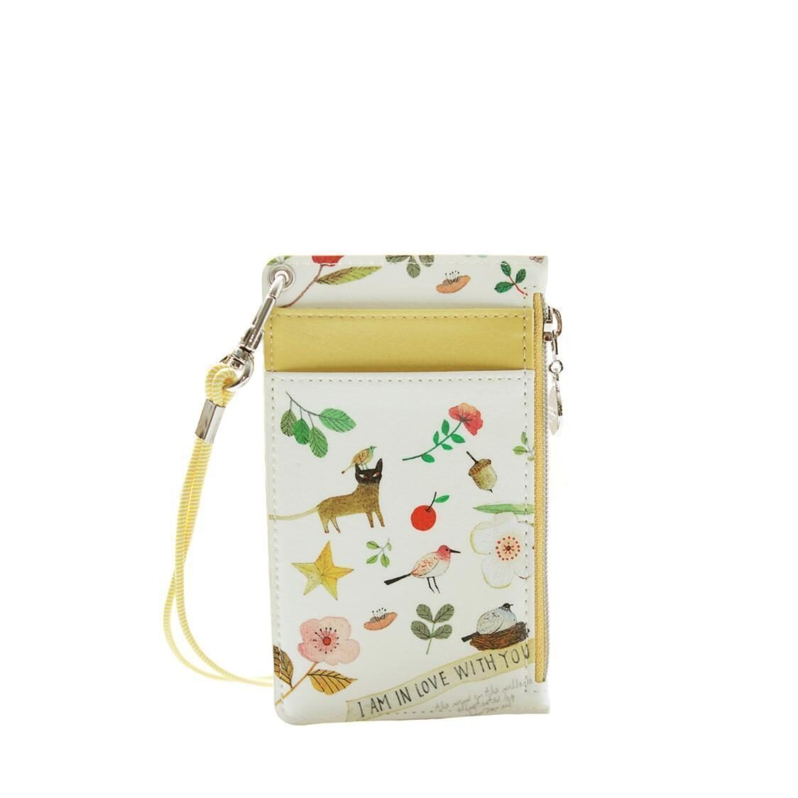 The Willow Story Neck Zipper Case ver3 Yellow