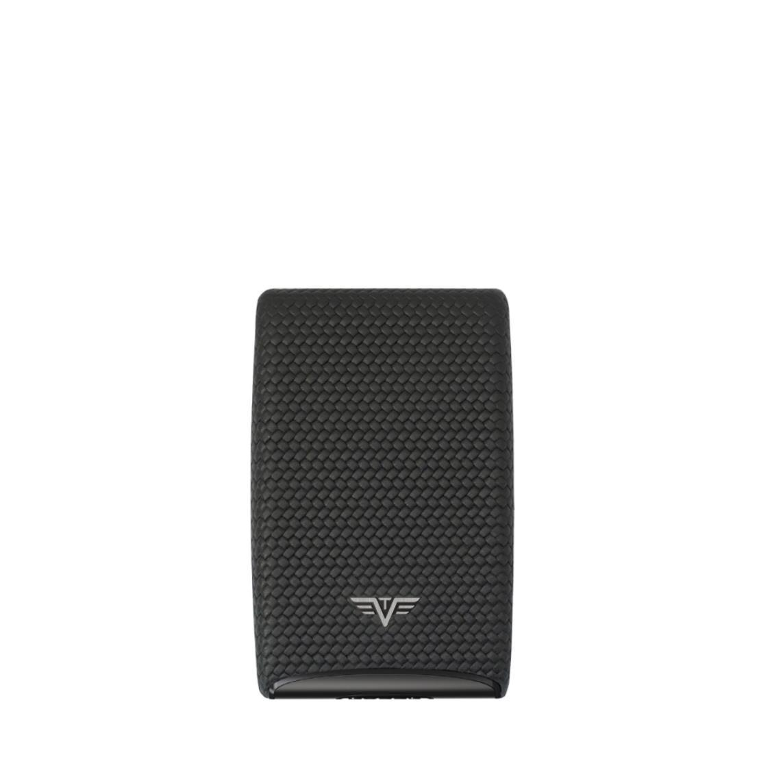 Credit Card Fan Diagonal Carbon Black