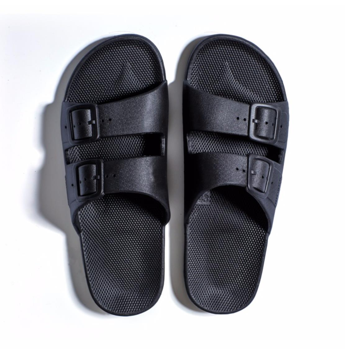 Freedom Slippers Black