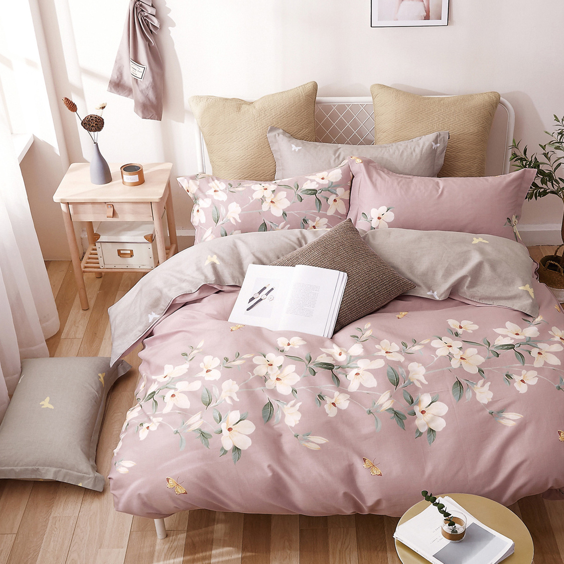 Cotton Print Bedset
