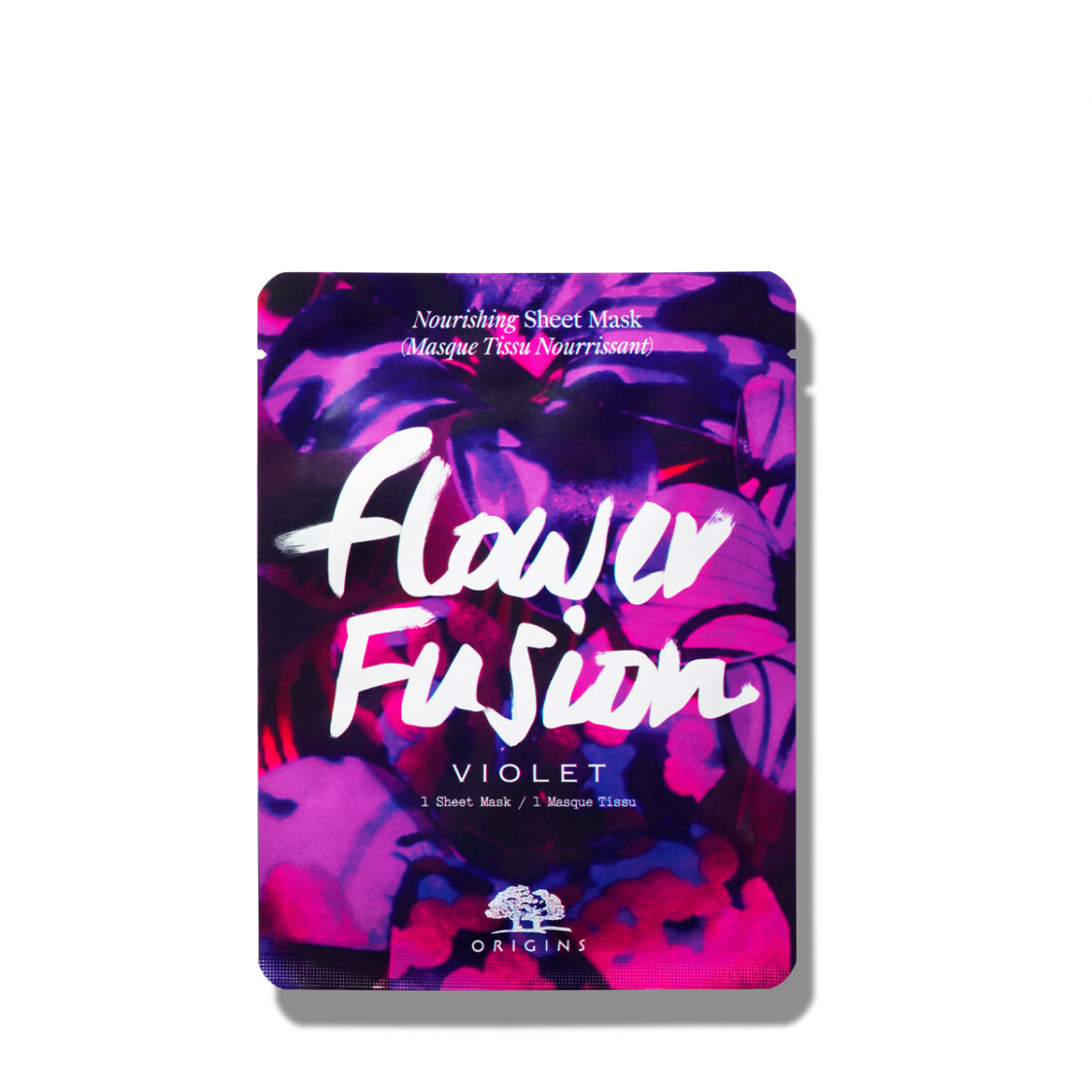 Origins Flower Fusion Hydrating Sheet Mask  Violet 1 Sheet