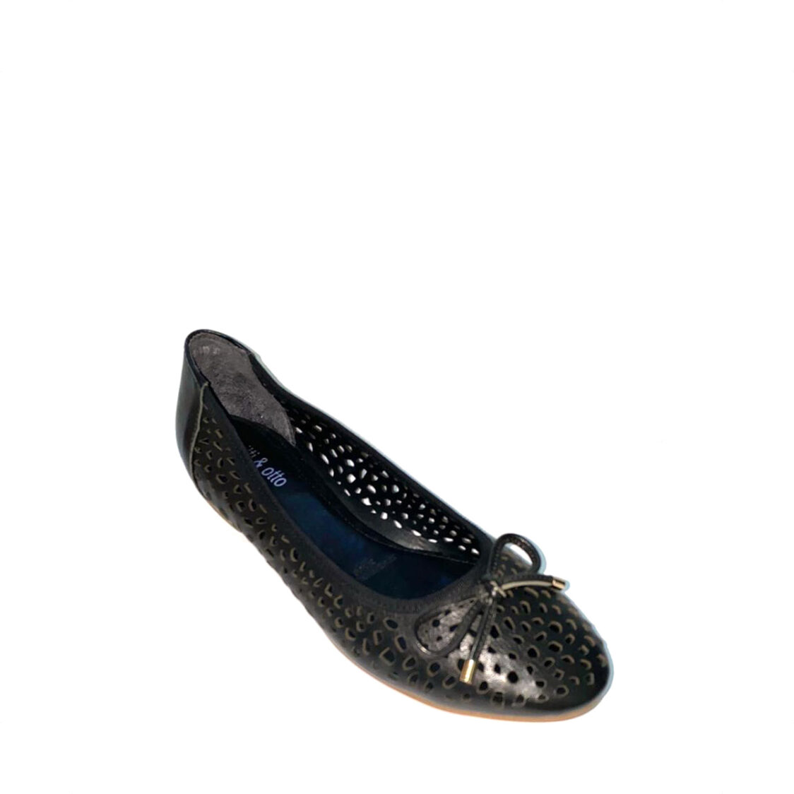 itti  otto Round Toe Pumps 35-110 Black